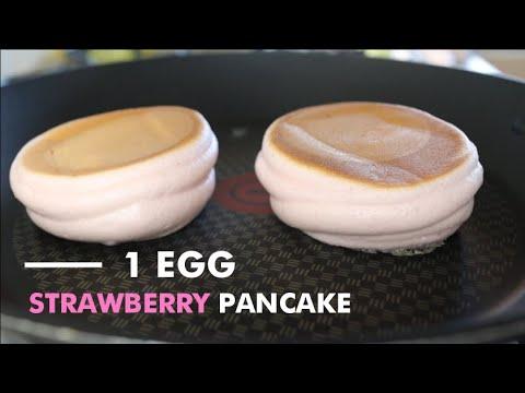 souffle pancake with 1 egg No baking powder แพนเค้กญี่ปุ่น วิธีทำบอกละเอียด