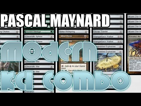 Channel PMayne - Modern Krark-Clan Ironworks Combo (Deck Tech & Match 1)