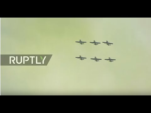 LIVE: MAKS Air Show continues in Russia - DAY 3