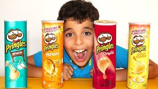 Learn Colors with Pringles