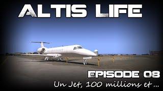 [Replay] Altis Life S04E08 - Un jet, 100 millions et ... (Police)
