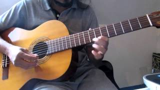 Madhuram jeevamritha on Lead guitar - Malayalam Indian Classical based song