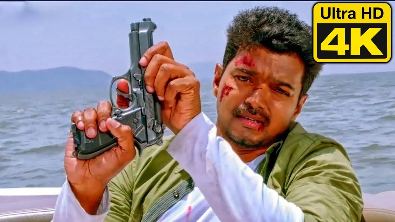 Download Indian Soldier Never On Holiday Best Action Scene In 4K Ultra HD | Vijay Best Action Scene