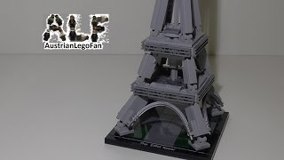 Lego Architecture 21019 The Eiffel Tower / Der Eiffelturm - Lego Speed Build Review