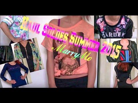HAUL / SOLDES SUMMER 2015 TRY ON - jeans industry - grossiste en ligne &Co