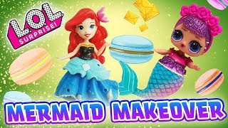 LOL Surprise Dolls Spin the Wheel Game! Sugar Queen gets a Mermaid ...