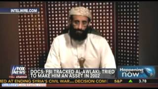 FBI tried to recuit Al Awlaki who spoke with Pentagon officials in 2002 where bacon was served