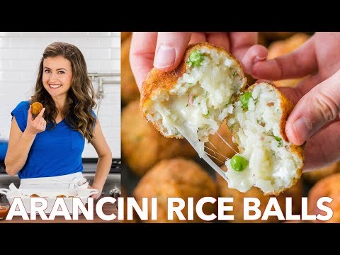 How To Make Arancini Rice Balls  - Italian Classic Recipe