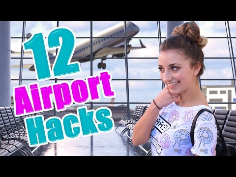 12 Airport Life Hacks Every Girl Should Know  Brooklyn and Bailey
