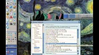 Winamp visualization Pink Floyd (Shine On You Crazy Diamond Part 1-5)