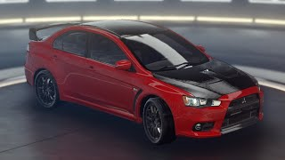 Asphalt 9: Legends - Mitsubishi Lancer X (MAX) Test Drive
