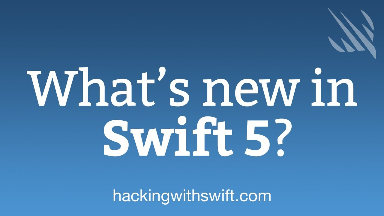 What's new in Swift 5 0 – Hacking with Swift