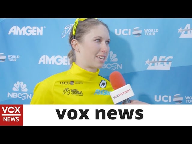 Stage One Amgen TOC winner Kendall Ryan -