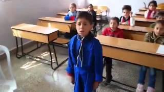عبد الرحيم الحلبي طفل سوري يؤدي قداً حلبياً بقصيدة