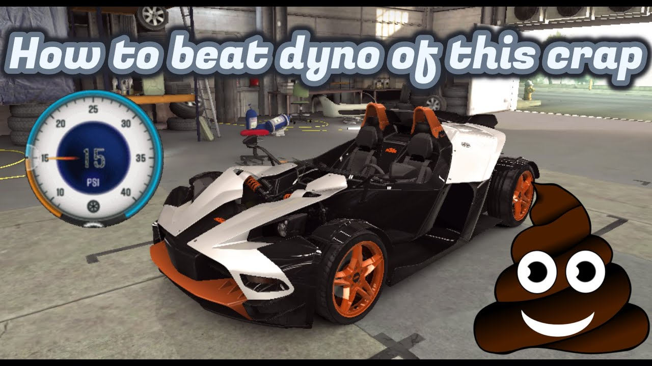 CSR Racing 2 | KTM X-Bow R | Stage 5 Tune | How to beat dyno with this  piece of crap