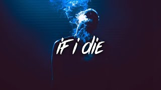 Gambar cover SoLonely - If I Die (Lyrics / Lyric Video)