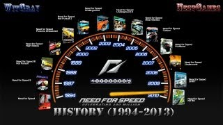 История серии Need for Speed 1994-2013 - Скоростная история.