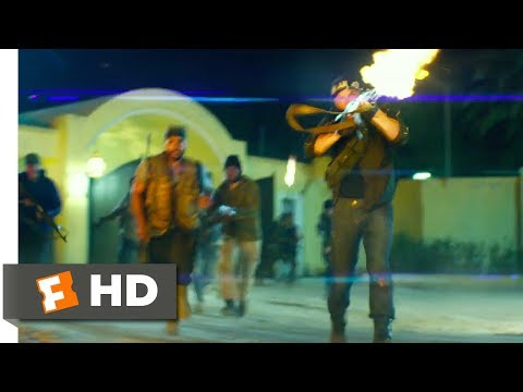13 Hours: The Secret Soldiers of Benghazi (2016) - Attack on