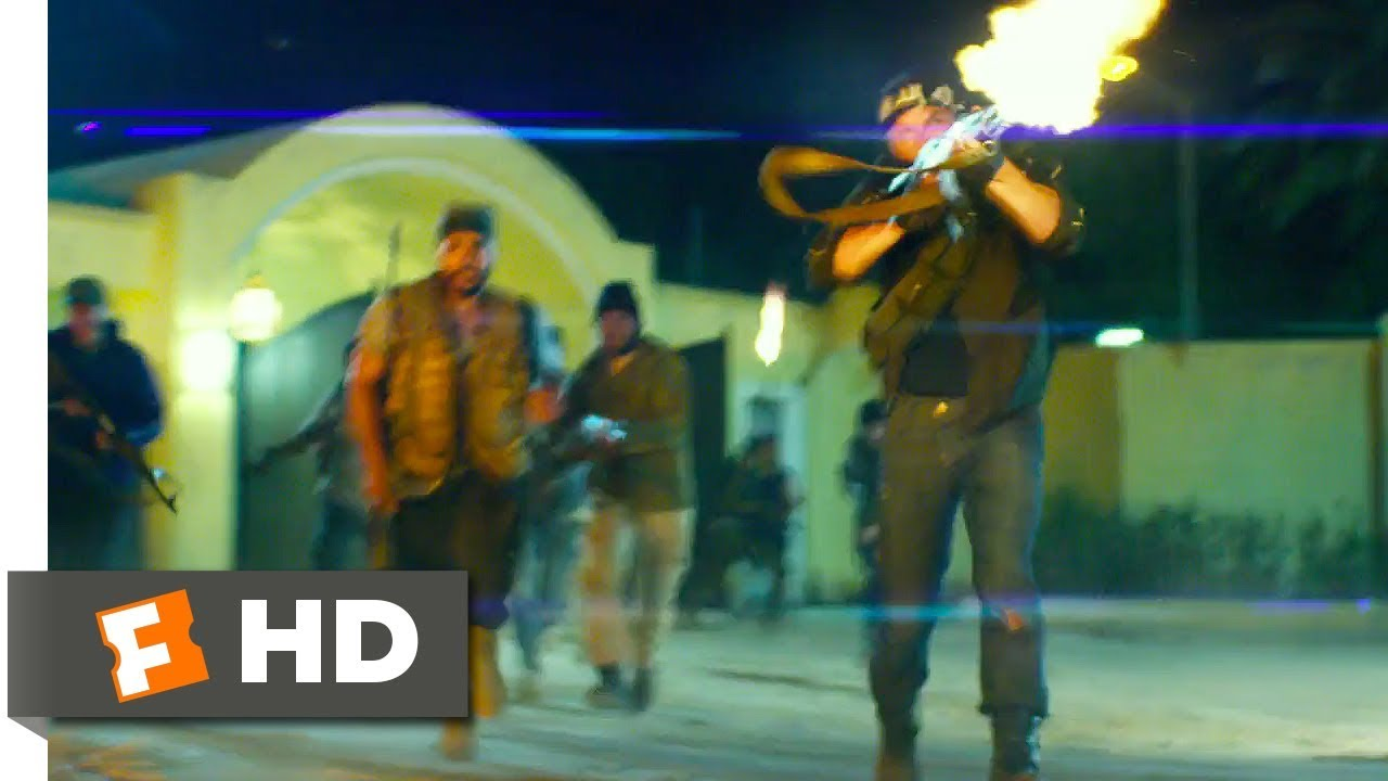 Download 13 Hours: The Secret Soldiers of Benghazi (2016) - Attack on the Consulate Scene (2/10)   Movieclips