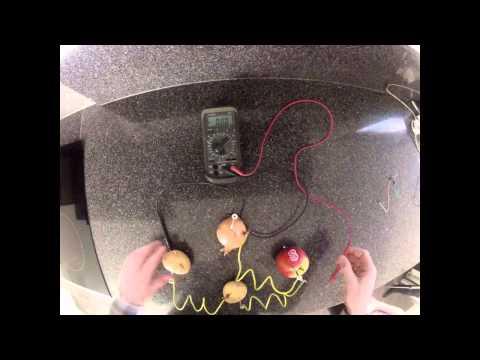 aardappelbatterij