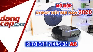 Đập Hộp Robot hút bụi lau nhà thông minh 2020: PROBOT NELSON A8 - Dangcapdigital.vn