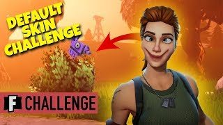 Last Fortnite Game of Season 5 - Default Skin Challenge