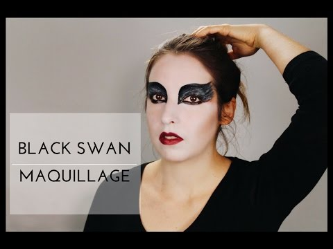 BLACK SWAN MAQUILLAGE , Tutoriel Facile ,