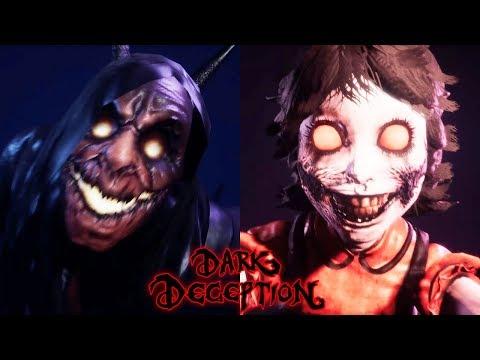 ОТКРЫЛ ВСЕ СЕКРЕТЫ АГАТЫ + ЕЁ ПАПОЧКА! - Dark Deception 2 глава второй кошмар Chapter 2