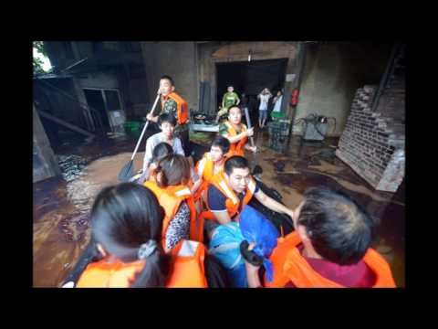 Rainstorm Causes Floods In China