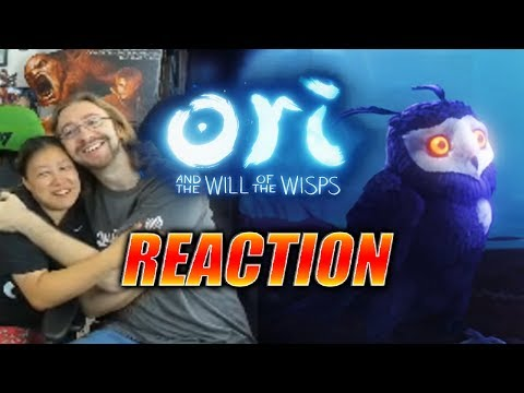 MAX/WIFE REACTS: ORI – Will Of The Wisps Trailer (Actual F'in Tears)