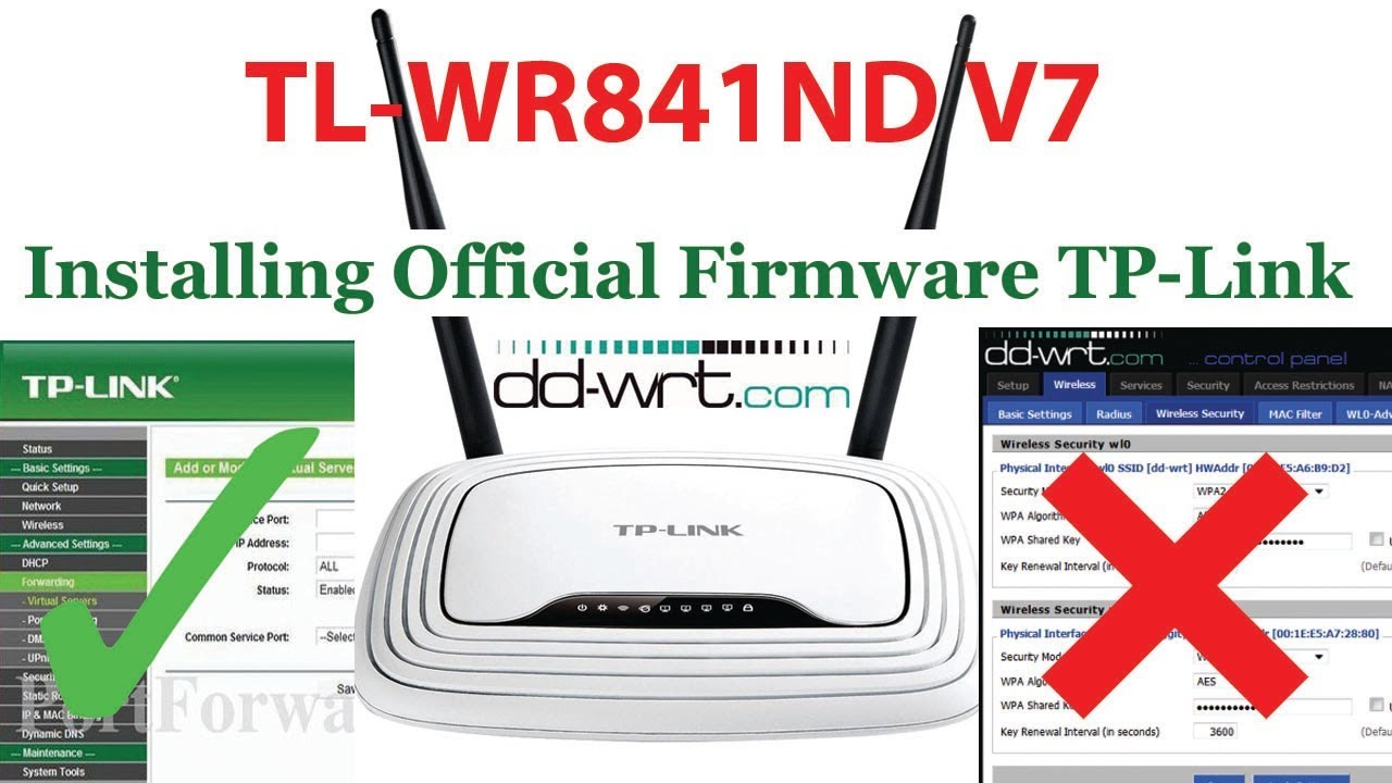 TP-Link TL-WR841N V7 Router Drivers for PC