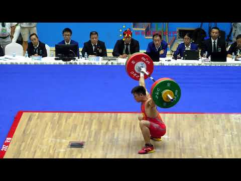 Chen Lijun (62) - Up to 148kg Snatch / 173kg Clean and Jerk @ 2017 Chinese National Games