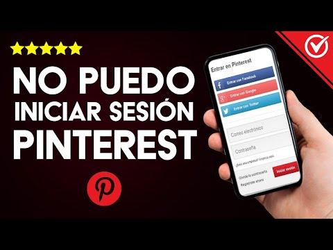 Solución: 'No Puedo Iniciar Sesión en mi Cuenta de Pinterest' - Pinterest no Funciona
