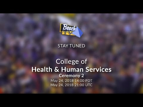 2018 CSULB Commencement - Health & Human Services, Ceremony 2