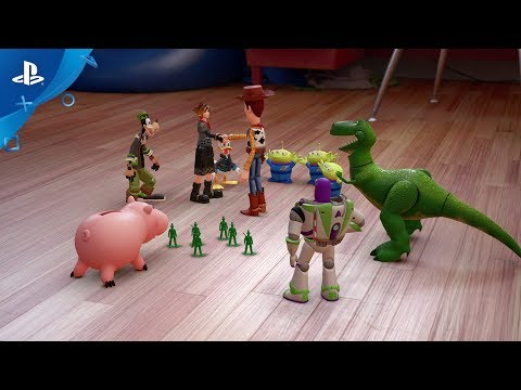 KINGDOM HEARTS III – D23 2017 Toy Story Trailer | PS4