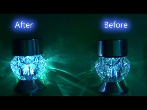 Brighter $3 Solar Light Mod