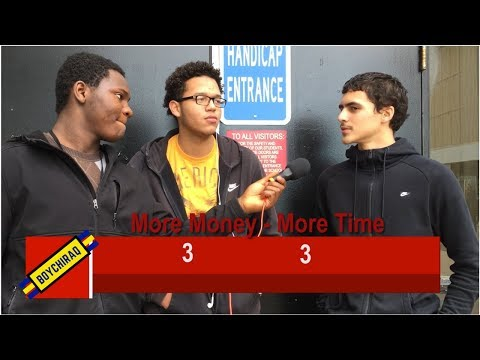 Would You Rather With Students at Brockton High School || Shiraq ATP Ep.1