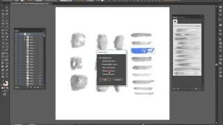 Как создавать свои векторные акварельные кисти.How to create your watercolor brushes.