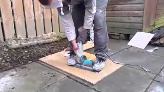 making a midget trowel How to reuse your old trowels