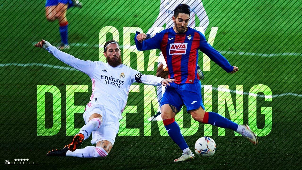 Download Crazy Football Defensive Skills & Tackles - 2021 | HD