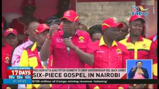 President Uhuru asks Peter Kenneth to step down and back Sonko