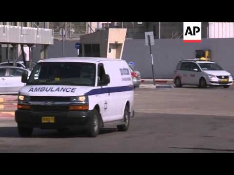 Body of AP journalist Simone Camilli arriving at airport for flight home to Italy