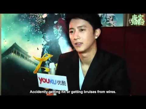 (Eng Sub) 110613 Han Geng interview @ Shanghai International Film Festival