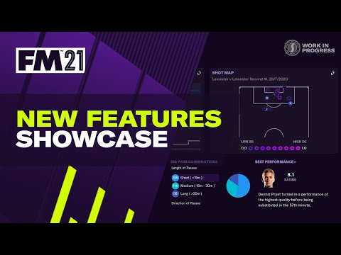 Football Manager 2021 | New Headline Features | #FM21 Out Nov 24