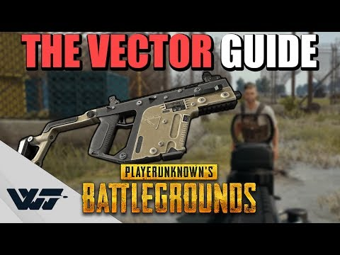 GUIDE: How to PROPERLY use the Vector SMG (The Close Combat Beast) in PUBG