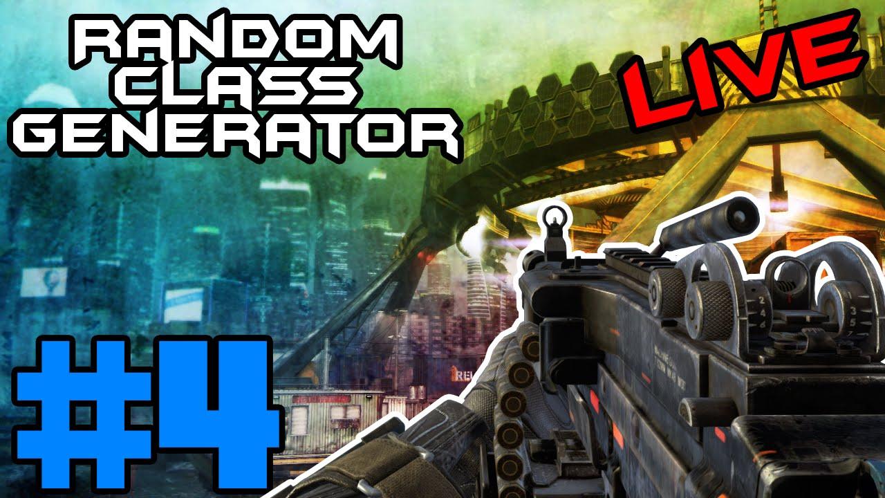 LMG ON CARGO!! Random Class Generator #4: Call of Duty Black Ops 2 - LMG ON CARGO!! Random Class Generator #4: Call of Duty Black Ops 2