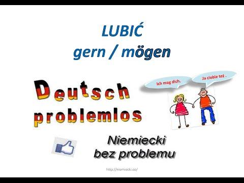 Lubić - gern / mögen - Niemiecki bez problemu