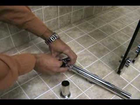 Bathroom Glass Vessel Sink Installation Youtube