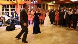 Танец жениха с тёщей – гости в Шоке