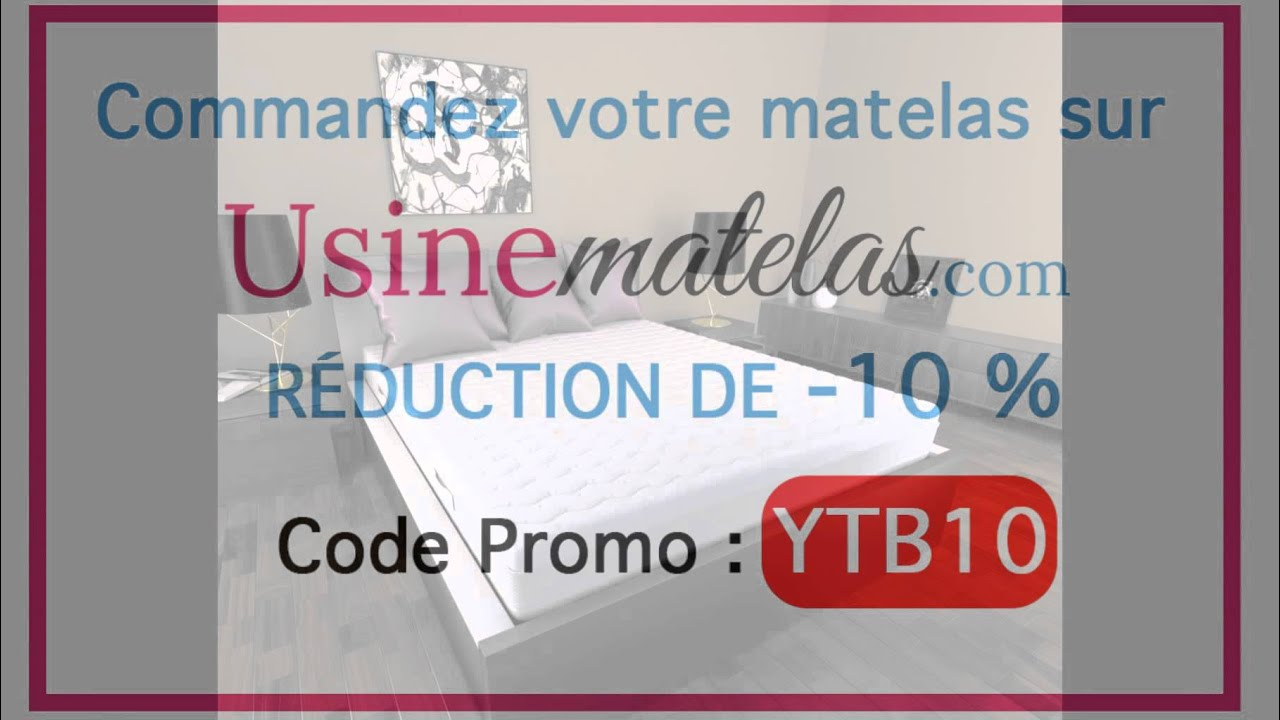 matelas 140x190 latex livraison rapide usine matelas youtube. Black Bedroom Furniture Sets. Home Design Ideas